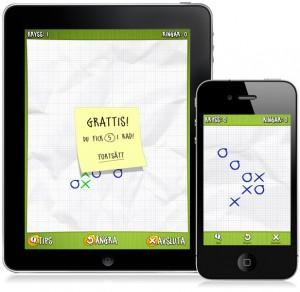 Luffarschack till iPhone och iPad