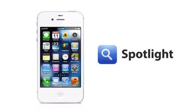 spotlight sökning