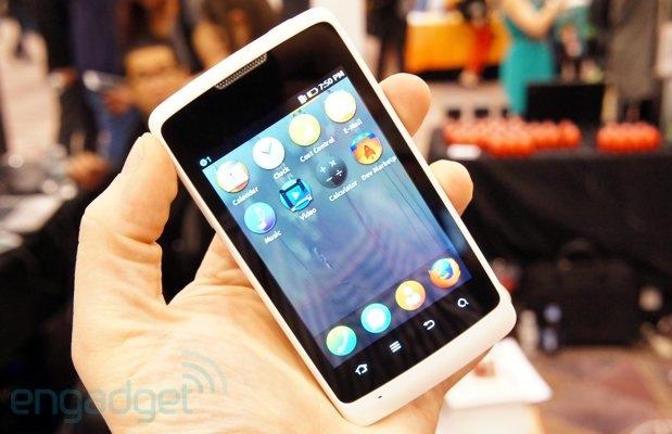 Firefox OS mobil - ZTE