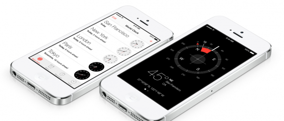 ios7-clock-compass