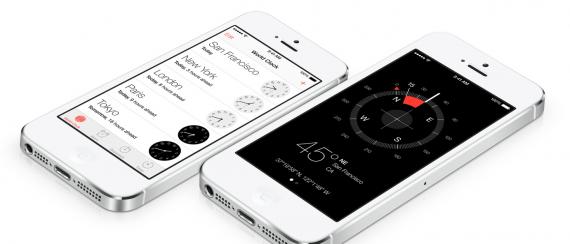 ios7-clock-compass