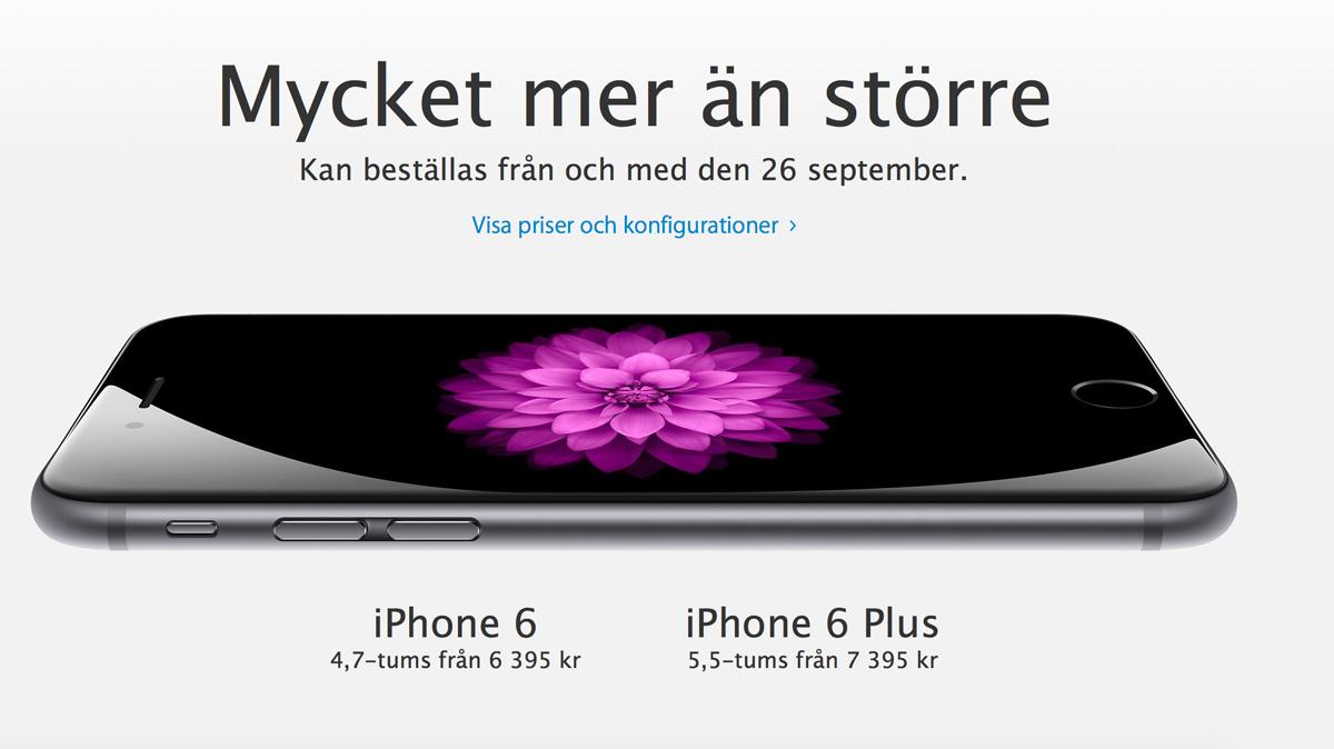 iphone6-priser